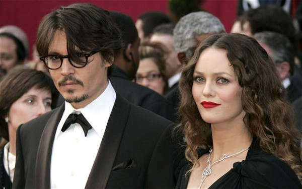 Johnny Depp și Vanessa Paradis