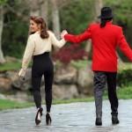 Michael Jackson și Lisa Marie Presley