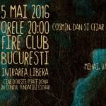 Afiș Acoustic All Stars Concert Fire Club 2016
