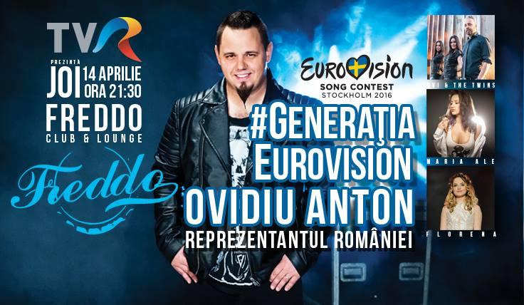 Poster eveniment #GenerațiaEurovision