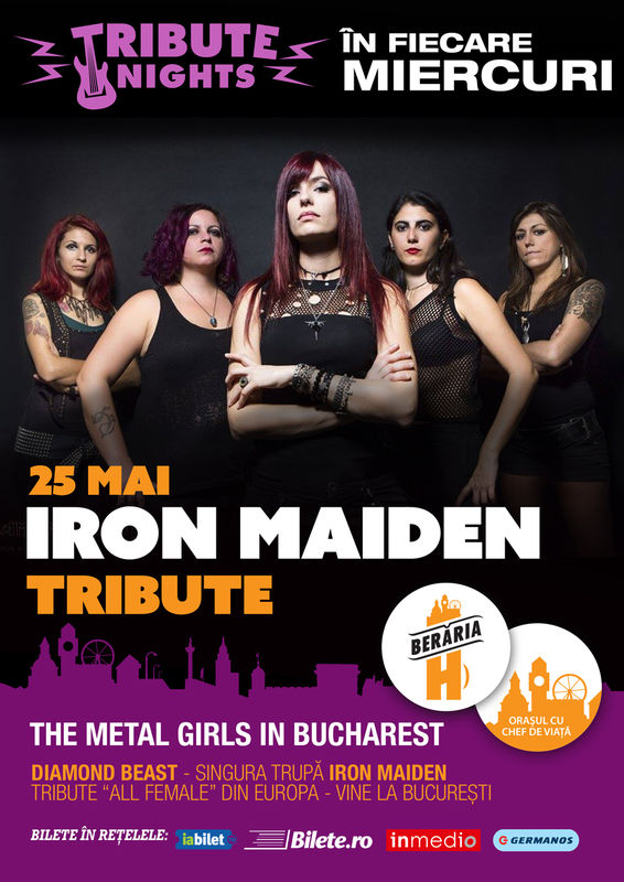 Iron Maiden Tribute la Berăria H