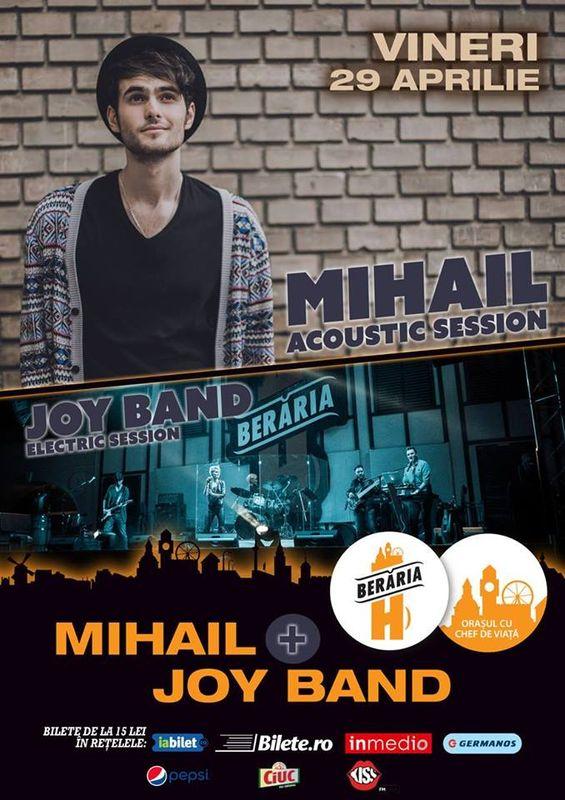 Mihail | Joy Band la Berăria H