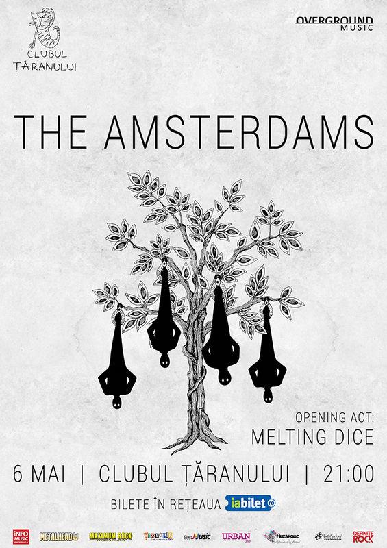 The Amsterdams la Clubul Țăranului Român