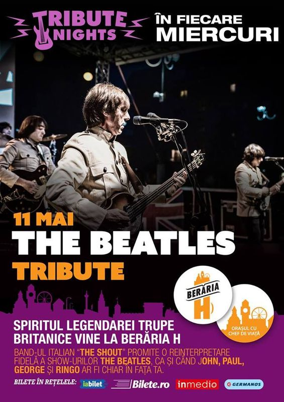 Beatles Tribute la Berăria H