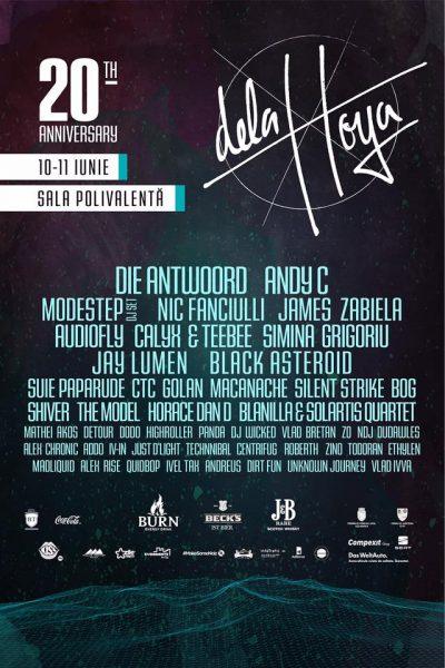 Poster eveniment Delahoya - Ediție aniversară