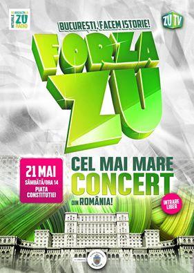 Forza Zu 2016 la Piața Constituției