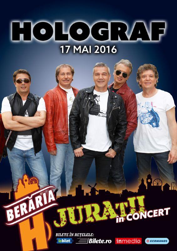 Afiș Holograf Concert Beraria H 2016