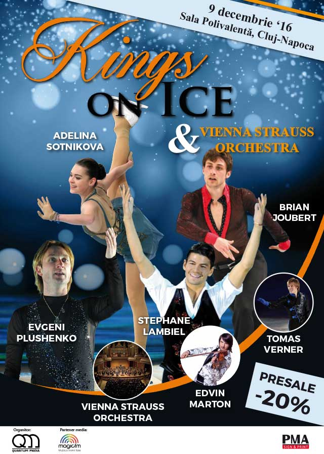 Kings on Ice & Vienna Strauss Orchestra la Sala Polivalentă Cluj-Napoca