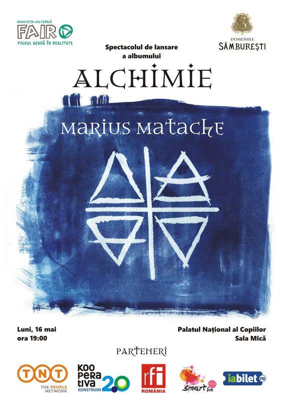 Afiș Marius Matache Concert Palatul Național al Copiilor 2016