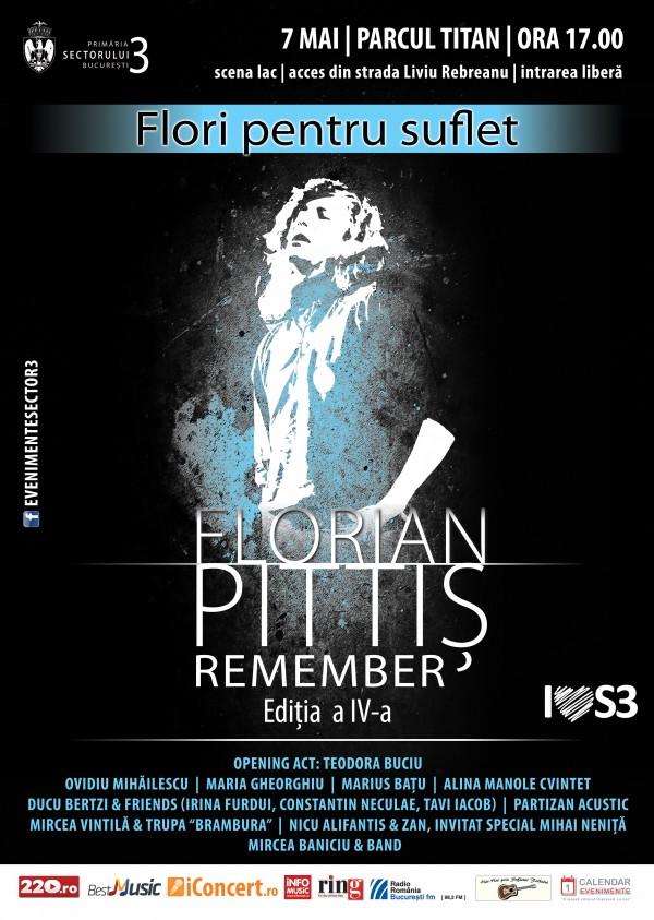 Flori pentru suflet - Remember Florian Pittiș Ed. IV