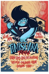Afiș Timișoara Rocks Festival 2016