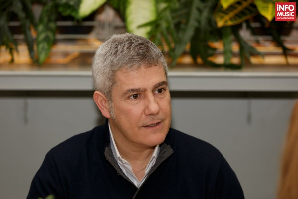Alessandro Safina intr-o conferinta de presa la Bucuresti (2016)