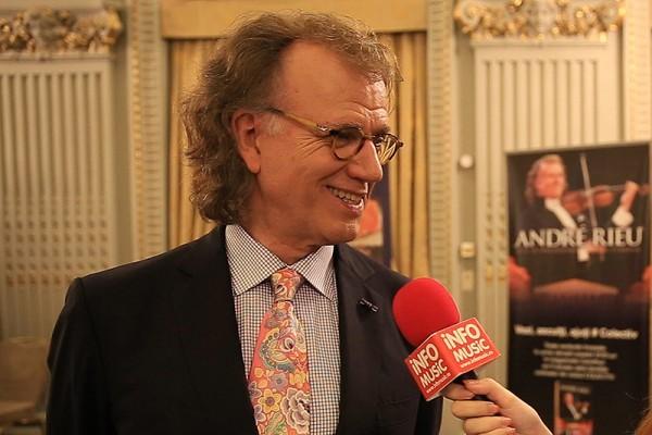 André Rieu intervievat de InfoMusic pe 14 aprilie 2016