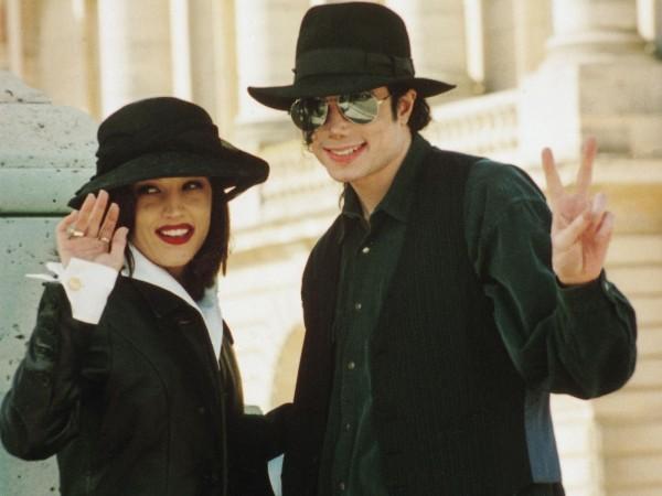 Lisa Marie Presley și Michael Jackson