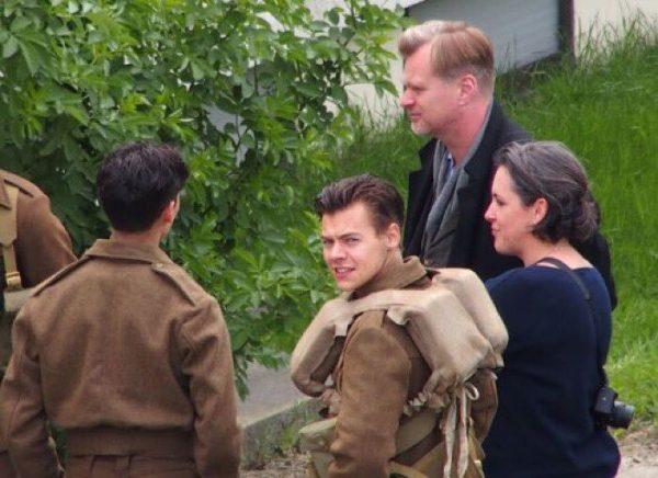 """Harry Styles pe platourile de filmare de la """"Dunkirk"""""""