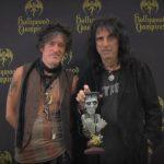 Alice Cooper & Joe Perry, înaintea concertului Hollywood Vampires de la București
