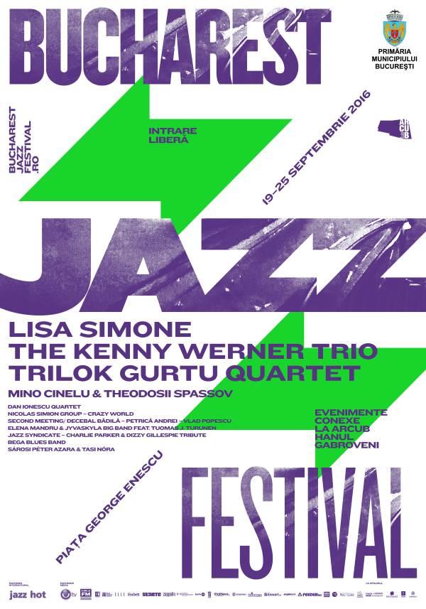 Bucharest Jazz Festival 2016 la Piața George Enescu