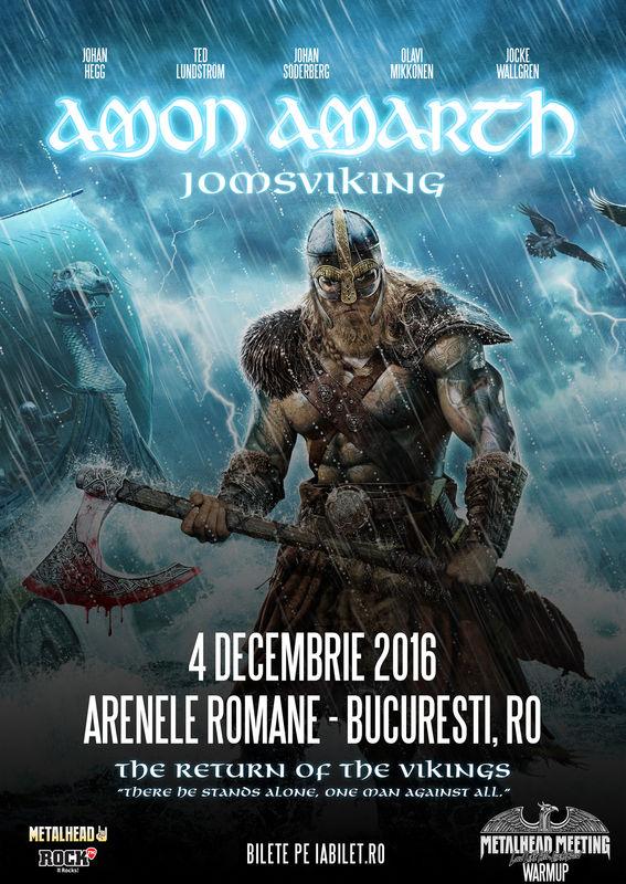 Amon Amarth la Arenele Romane