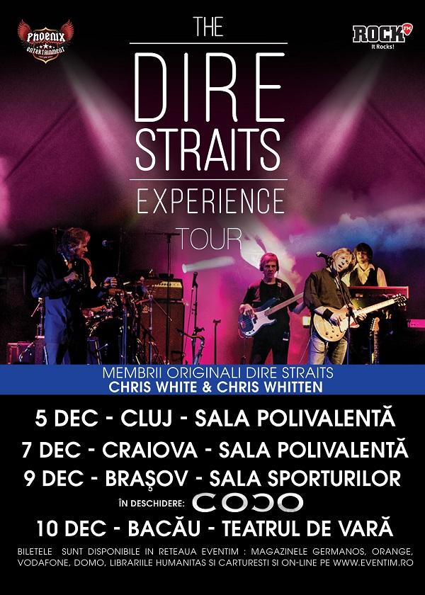 The Dire Straits Experience la Sala Sporturilor Brașov