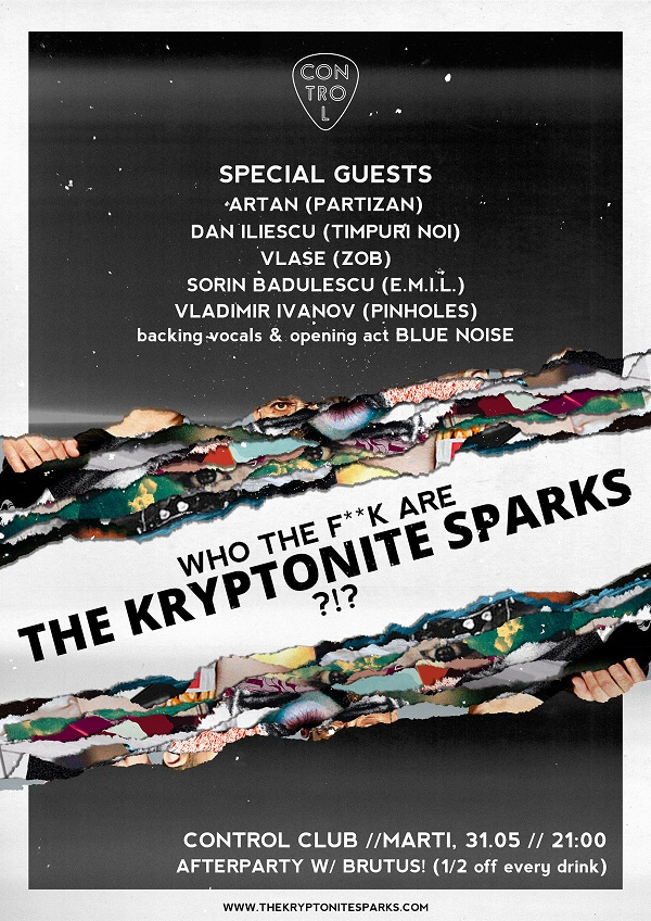 The Kryptonite Sparks & Friends la Club Control