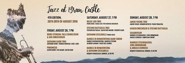 Jazz at Bran Castle IV la Castelul Bran