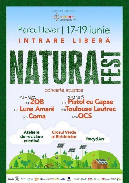 Poster eveniment Natura Fest