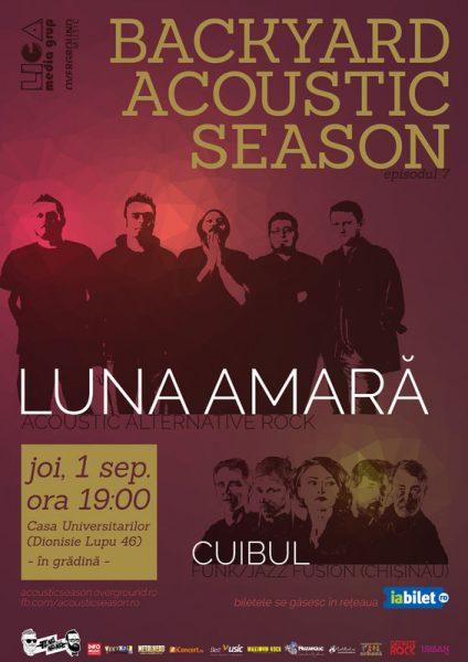 Poster eveniment Luna Amară I Cuibul
