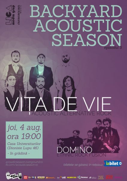 Poster eveniment Vița de Vie I Domino