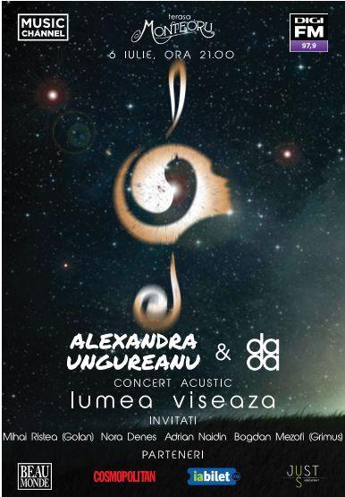 Alexandra Ungureanu & the dAdA la Terasa Monteoru