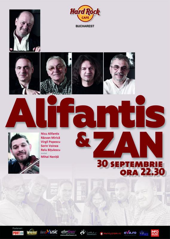 Nicu Alifantis și ZAN la Hard Rock Cafe