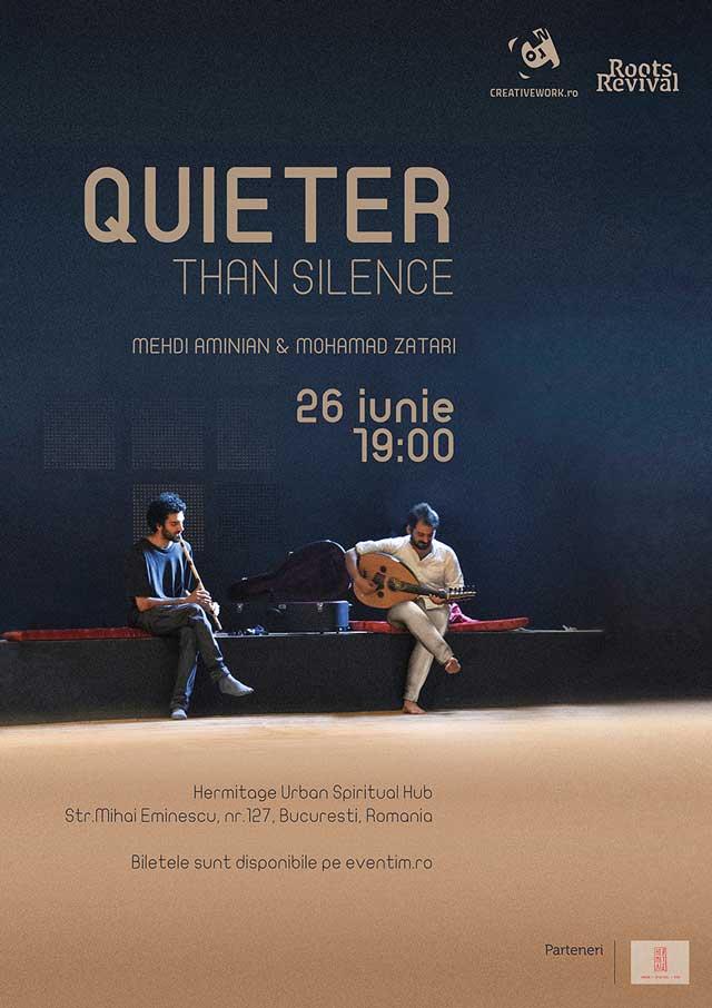 Quieter than Silence la Hermitage Urban Spiritual Hub