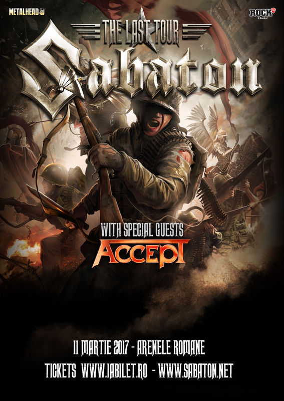 Sabaton - SOLD OUT la Arenele Romane