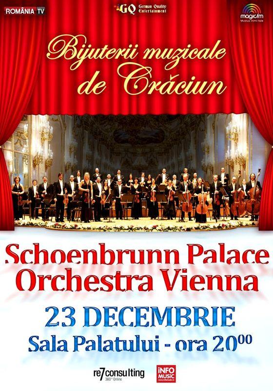 Schoenbrunn Festival Orchestra Vienna la Sala Palatului