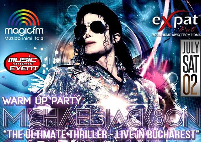 Michael Jackson Warm Up Party la Expat Pub