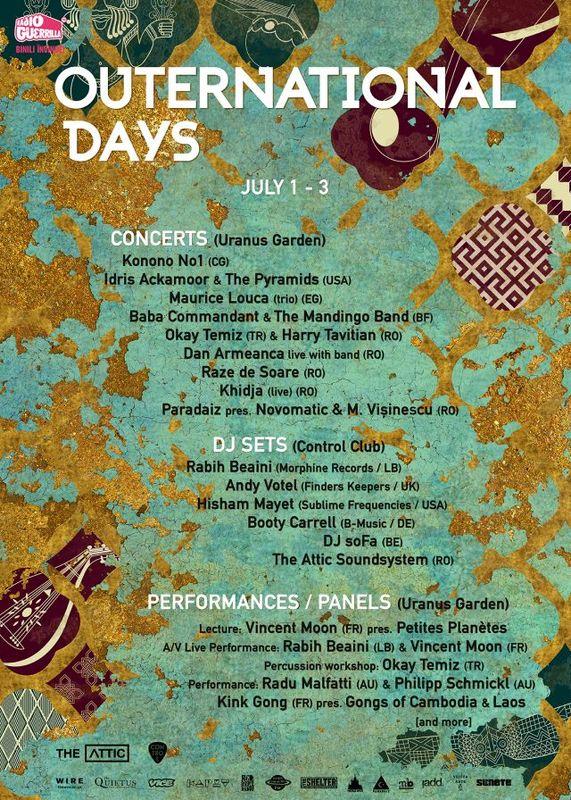 Outernational Days Festival la Grădina Uranus