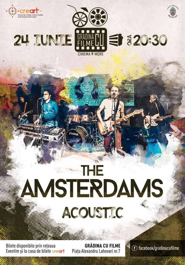The Amsterdams la Grădina cu filme
