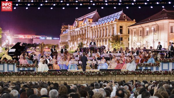 Concert André Rieu pe 11 iunie 2016 la București