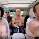 Red Hot Chili Peppers la Carpool Karaoke