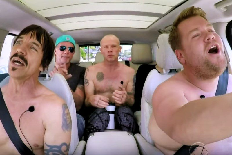 Red Hot Chili Peppers la Carpool Karaoke