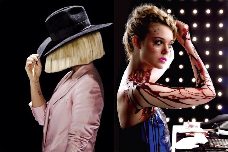 "Sia / Elle Fanning în ""The Neon Demon"""