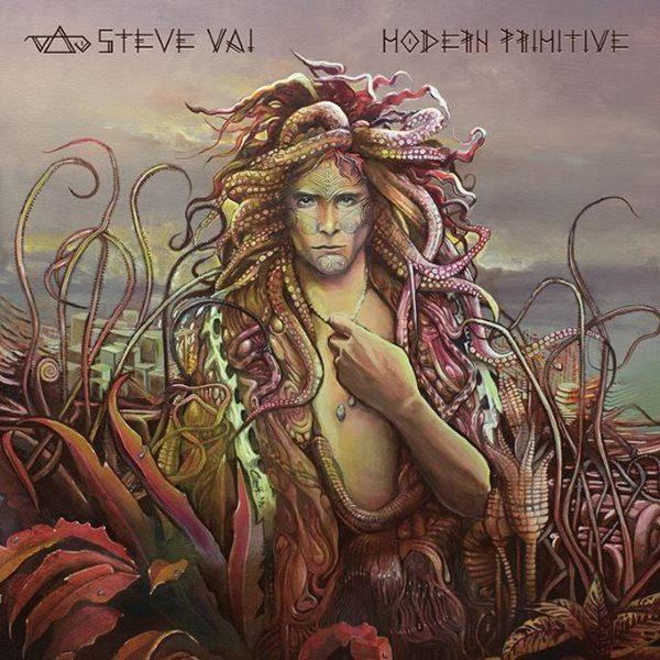 Steve Vai - Modern Primitive (copertă album)