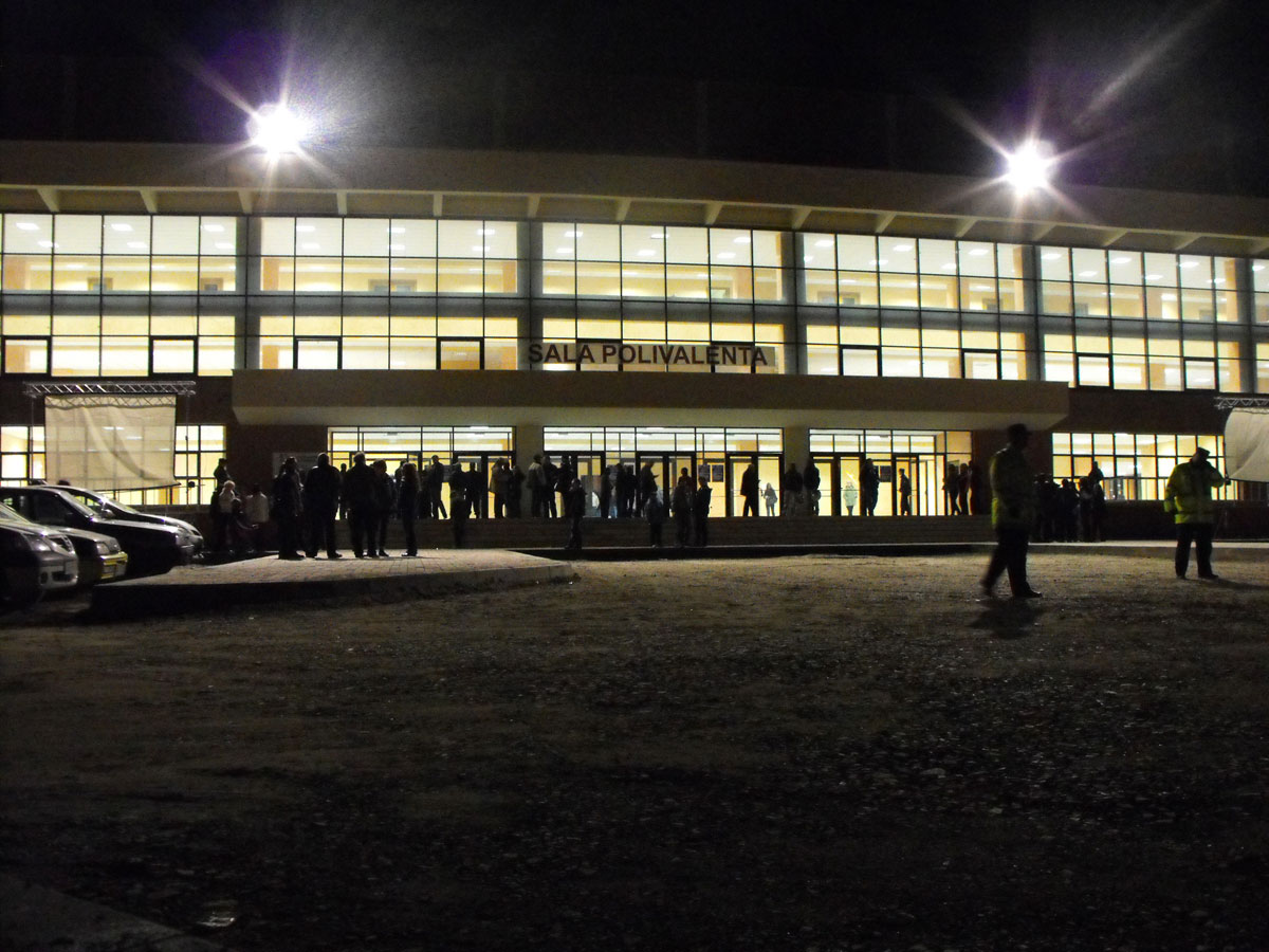 Sala Polivalentă Piatra Neamț din Piatra Neamt