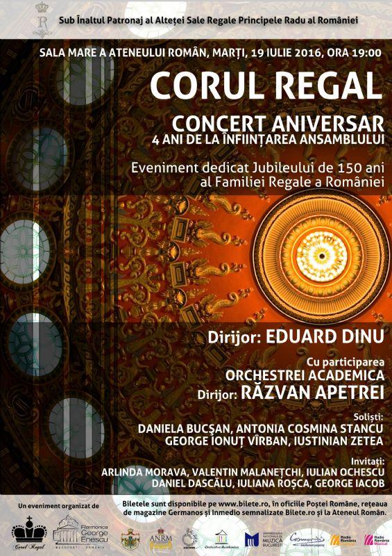 Corul Regal - Concert Aniversar