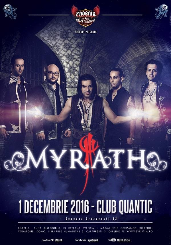 Myrath la Quantic Club