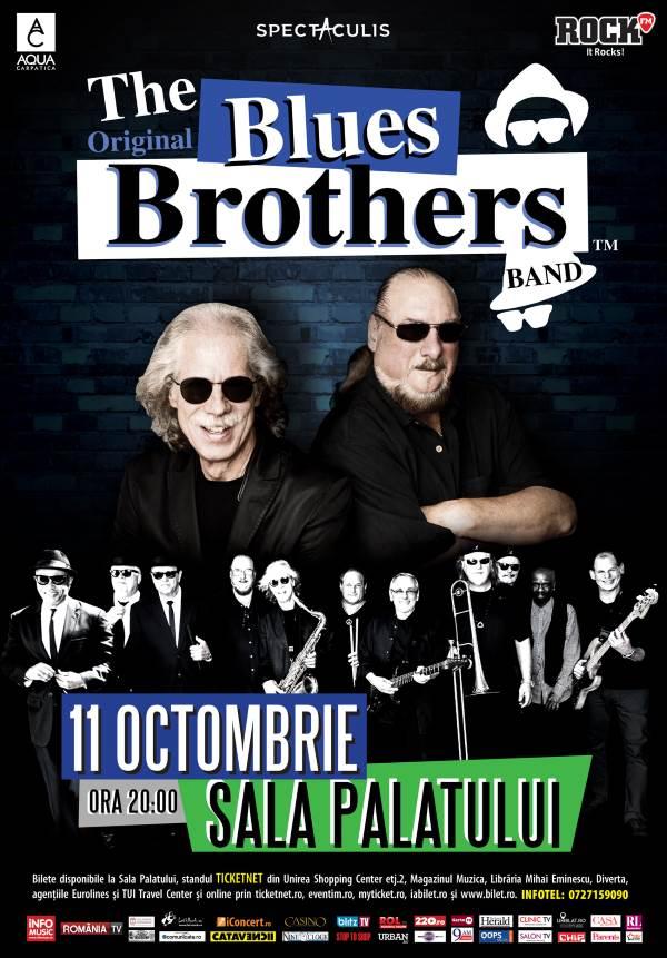 The Original Blues Brothers la Sala Palatului