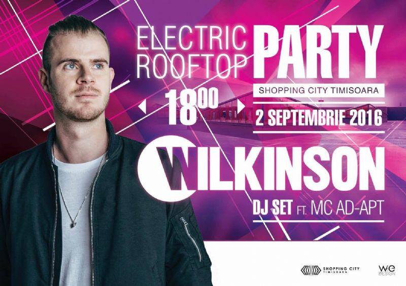DJ Wilkinson la Shopping City Timișoara