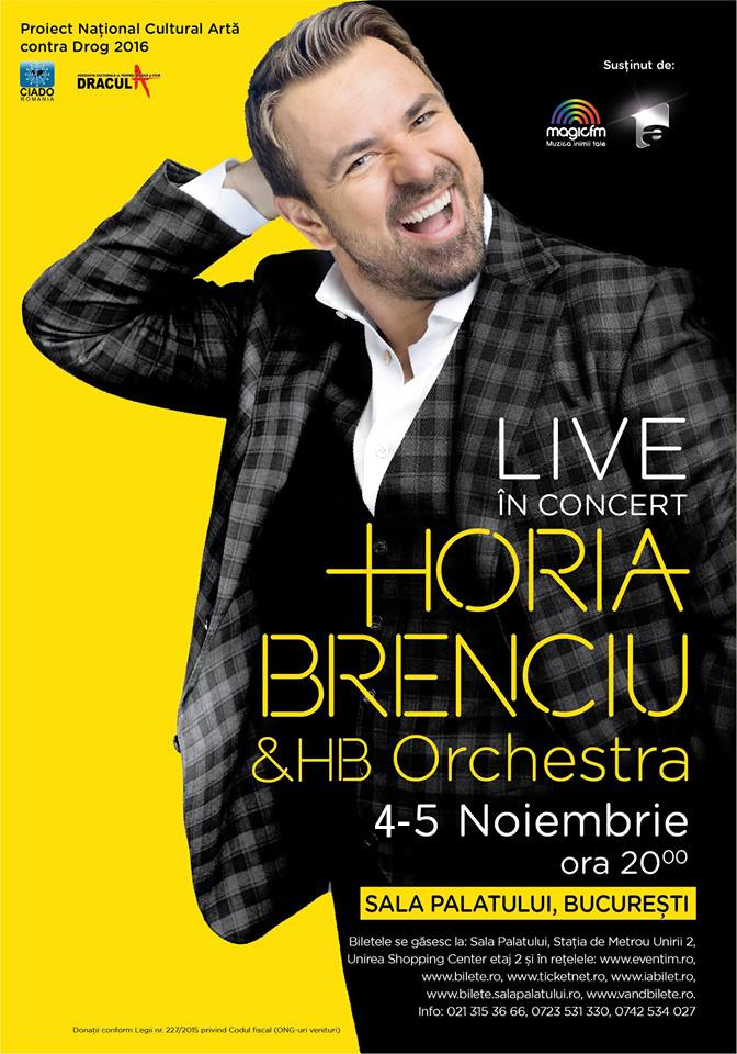 SOLD-OUT - Horia Brenciu & HB Orchestra