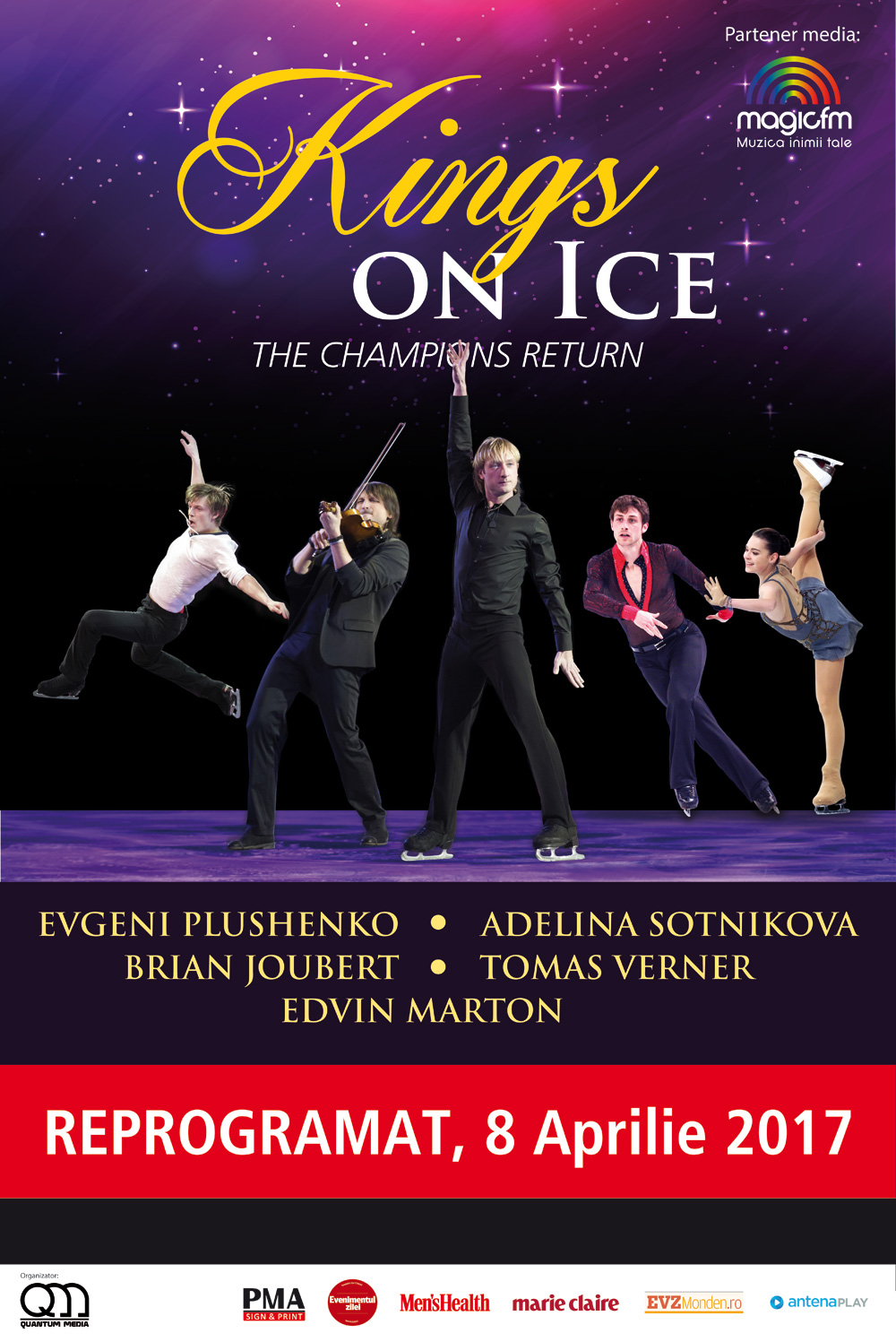 Kings On Ice - The Champions Return la Sala Polivalentă