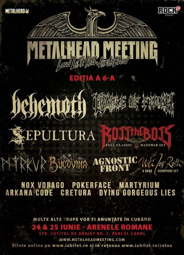 Metalhead Meeting la Arenele Romane