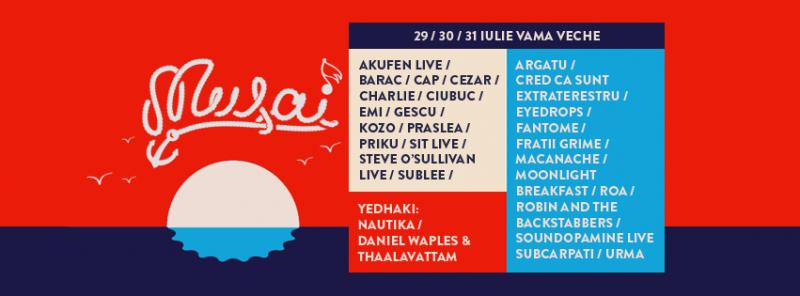 Poster eveniment Musai Fest